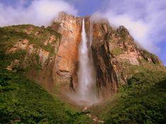 Salto Ángel Parque Nacional Canaima, Venezuela
