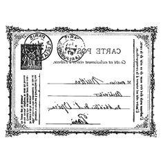 Transfer Postkarte 605