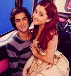 Avan Jogia & Ariana Grande- aww they are cute!