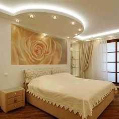 Latest catalog board false ceiling designs This simple to create drywall texture is commonly installed on a ceiling, but can be created on walls just. Bedroom Design, Bed Furniture Design, Ceiling Design Modern, Ceiling Design Living Room, Small Bedroom Designs, Bedroom Bed Design, Trending Decor, Bedroom False Ceiling Design, Ceiling Design Bedroom