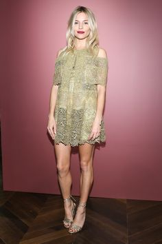 Sienna Miller Hosts The Celebration Of The Tale Of Thomas Burberry At Burberry Soho