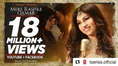 #Repost @tseries.official with @repostapp ・・・ #MereRashkeQamar (Female Version ) crosses  over 18 Million views in one week n co