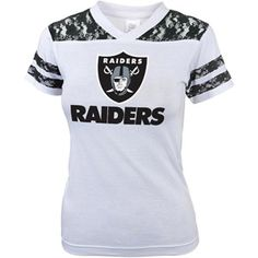 NFL Girls' Oakland Raiders Short Sleeve Tee