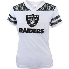 NFL Girls' Oakland Raiders Short Sleeve Tee