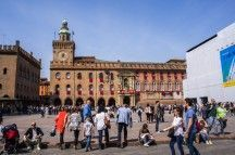 Bologna Map: Self-guided walking tour (2 hours in Bologna)