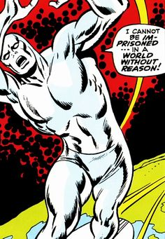 The Silver Surfer #1 (1968), written by Stan Lee, art by John Buscema & Joe Sinnott