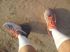 my dingy ASiCS Gel Kinsei 5  quiet running mate :-)