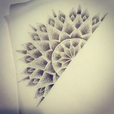 mandala tattoo dotwork - Buscar con Google