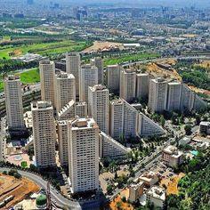 condominiums in Tehran, IRAN.