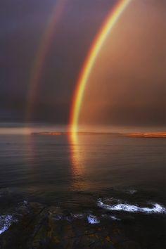 Double #rainbow :) #photography #sky