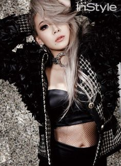 Check out 2NE1's CL in Her Sexy Pictorial for InStyle Magazine | Koogle TV