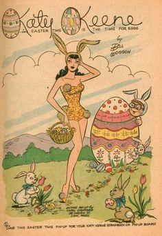 Katy Keene #60 - Easter Pin Up