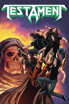 Heavy Metal Rock, Heavy Metal Music, 30 Rock, Hard Rock, Testament Band, Selfies, Skate Art, Guns, Punk Outfits