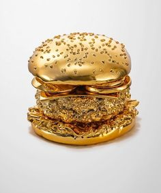 "Golden Burger - My thought when I saw this was ""The Rachel Ray Award"""