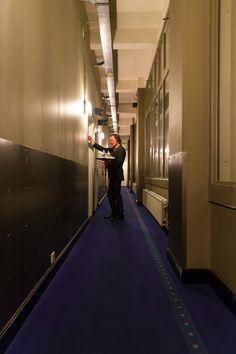 Hotel New York Rotterdam. #roomservice #nightporter