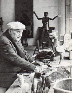 Andre Derain's studio
