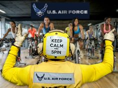 U.S. Air Force Puts its Spin on Exercise