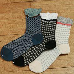 """Antipast """"checker"""" trouser socks"""