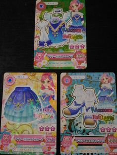 "Trading card of Japanese Idol Animation ""AIKATSU"" Flower Pirouette coord"