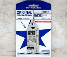 Unique tag made from authentic Lockheed Super Constellation recycled aircraft skin, silver colour. Own a little piece of aviation history. Aircraft, Feelings, The Originals, History, Aviation, Airplane, Number, Tags, Unique