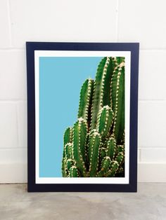 East End Prints - Green Cactus, £19.95 (http://www.eastendprints.co.uk/products/green-cactus.html)