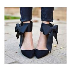 actual pic 2014 New For Women High Heels Sophia webster Abdul Jillil bow pumps jc wedding shoes women genuine leather shoes-in Sandals .