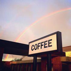 COFFEE GOLD - Good morning all!  #potofgold #coffeerainbow #coffeesign #coffee #specialtycoffee #roughdiamondcoffee #warrnamboolcafe #warrnambool #earlymornings #eatoutwarrnambool #3280 by rough_diamond_coffee