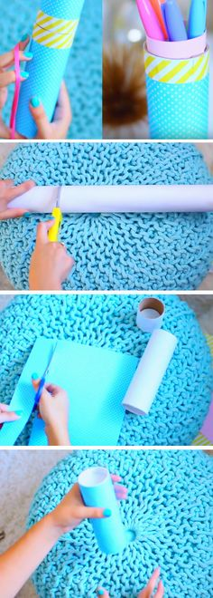 Pencil Tube | DIY Tumblr Inspired School Supplies for Teens you need to try!