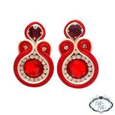 Soutache Earrings, Shibori, Instagram, Diy Kid Jewelry, Soutache Jewelry, Pearl Necklaces, Patterns, Accessories, Jewelery