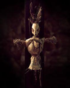 Bon Chance Voodoo Doll 1. Handmade voodoo doll by BijouxBayou