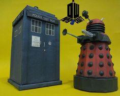 PAPERMAU: Doctor Who - Tardis And Dalek Paper Models - by Lu...