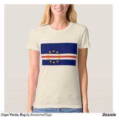 Cape Verde, flag T Shirts