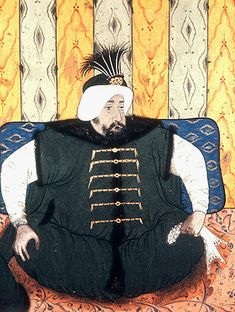Sultan Mehmed IV, 1648-1687, portrait from nineteenth century manuscript no 3109, Topkapi Palace Museum, Istanbul, Turkey