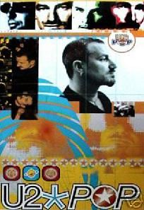 U2 POP COLLAGE POSTER - 24 X 36 - FREE SHIPPING $15.00