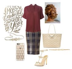 """""""Can it be Christmas Already???"""" by kortlynwells ❤ liked on Polyvore featuring René Caovilla, MICHAEL Michael Kors, Marc by Marc Jacobs, Casetify, Jane Tran and City Chic"""
