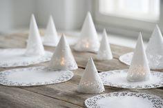 Tee itse kauniit joulukoristeet: Ihastuttavat pitsikuuset | K-ruoka #joulu
