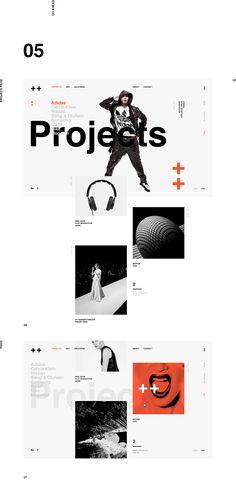 A little bit too much noise, but nice playful composition Inty ++ on Behance
