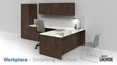 Our workplace distancing solutions provide environments that keep people healthy, safe and productive.  Create healthier workspaces with our soft seating, panel system, acrylic privacy screens, freestanding acrylic screens, fixed acrylic screens, surface lateral acrylic screens, end surface acrylic screens, laminate lateral gallery panels with acrylic screens and more!   #groupelacasse #workplacedistancing #physicaldistancing #staysafe #smartspaces #privacy Office Furniture, Office Desk, Panel Systems, Soft Seating, Workspaces, Privacy Screens, Modern, Surface, Concept
