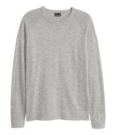 Knitted premium cotton jumper   Men   H&M ZA