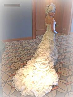 近藤しづか、マーメイドシルエットのウェディングドレスで。 #ウェディング #ウェディングドレス #wedding