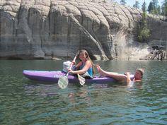 Hitching rides...Picture taken at McPhee Reservoir...