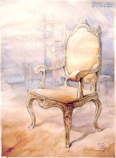 barocco chair by ~hipiz on deviantART