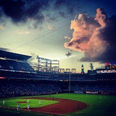 Heaven on earth. #Baseball
