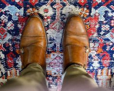 I have a 'thing' for rugs (and shoes). A good rug is the soul of a room and almost always where my process begins. This room has a very old soul - a rug that lived in my High Point showroom for years is now enjoying it's golden years in my sister's...