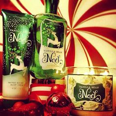 Decorate your home, shower and body with Holiday favorite Vanilla Bean Noel!   (photo via #FragranceFan anisa_farah)