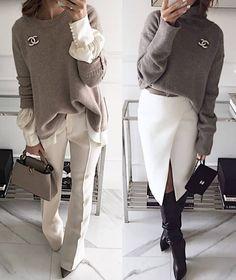 New fashion outfits women winter minimal classic ideas Work Fashion, New Fashion, Trendy Fashion, Winter Fashion, Fashion Trends, Mode Outfits, Chic Outfits, Winter Outfits, Fashion Outfits
