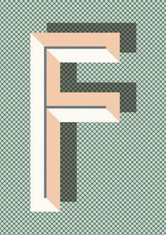Tableau décoratif en papier BAU DECO by ferm LIVING design Ruth Vissing