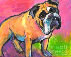 Bright Bulldog - Svetlana Novikova -- Native Russian, living in Austin, TX with her family... ♥