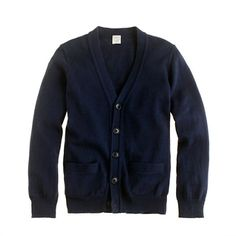 Boys' cotton-cashmere cardigan via Crewcuts
