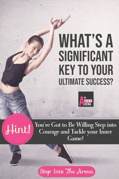 Impactful personal brands and successful women business owners know that you've got to be willing to step into courage and tackle your inner game.  Supercharge your business with learning how to let go ...Step into The Arena here for more about awakning to your TRUE Inner Game!